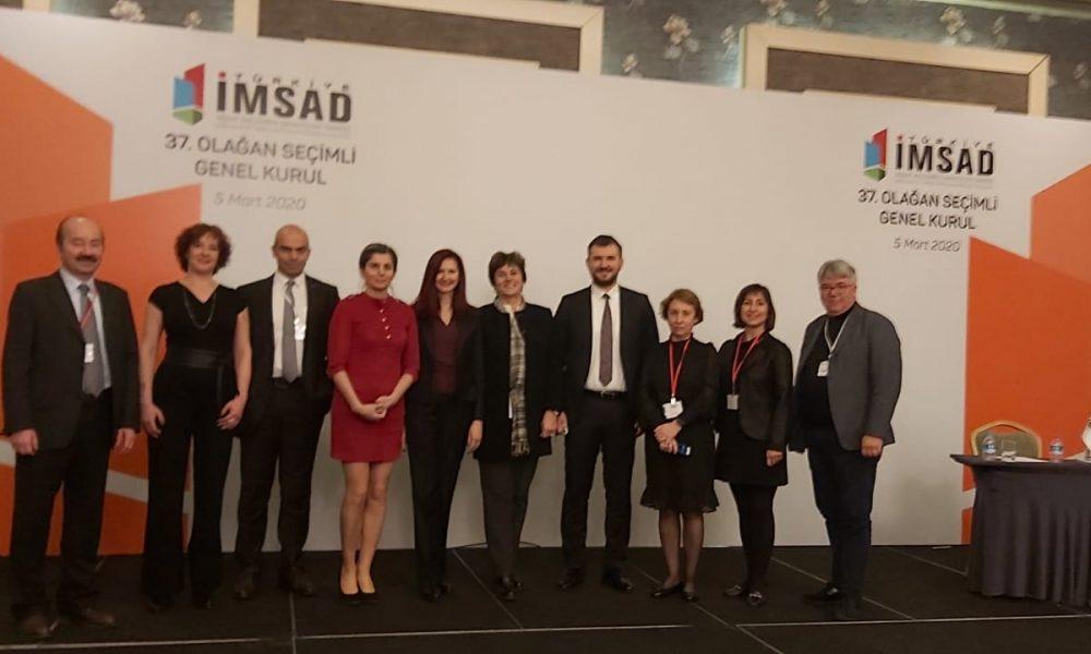 Türkiye İnşaat Malzemesi Sanayicileri Derneği (İMSAD) üyesiyiz.